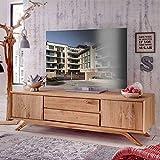Pharao24 TV Sideboard aus Wildeiche Massivholz 180 cm