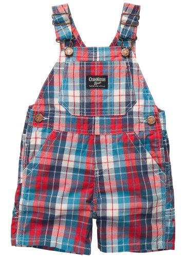 oshkosh-bgosh-kurze-latzhose-shorts-sommer-baby-hose-junge-80-blau-rot
