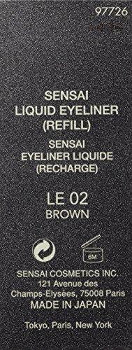 Sensai Occhi Liquid Eyeliner Refill nr. 02, marrone, 0, 5 ml