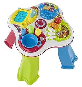 Chicco 00007653000000 tavolo cresci e impara bilingue ita gb giochi e giocattoli - Tavolo cresci e impara chicco ...
