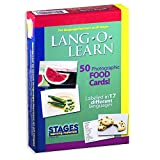 Lang-O-Learn Cards, Food (Pack of 50)