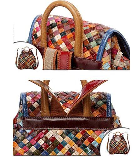 Fotocolor A Tracolla Da Viaggio Da Donna Fashion Knit