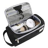 Eono Essentials, borsa appendibile da viaggio, weekender, palestra, accessori da toilette, unisex per uomo e donna, colore nero