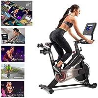 ProForm Vélo de Biking Power 10.0-Connecté-Compatible Ifit Smart Cardio-Ecran Tactile 10'' -Abonnement 1an Inclus pour des Entraînements et Vidéos Coachées Mixte, Noir, 143 X 56 X 139 cm