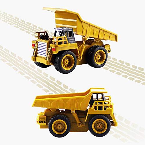 RC Auto kaufen Baufahrzeug Bild 3: Kinder RC Baufahrzeuge Modellbau Spielzeugauto - Fernbedienung Bagger Muldenkipper & Bulldozer Spielzeug für Kleinkinder, Kinder - Bau Spielzeug Traktor von Libertey*
