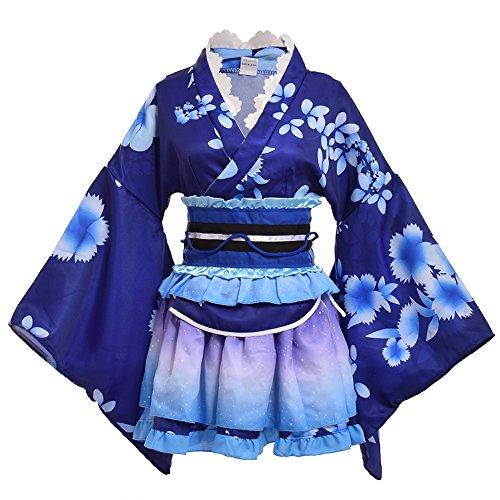 GRACEART Damen Yukata Kimono Kostüm Set