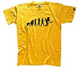 STANDART EDITION - Paketmann Post Kurierdienst Evolution T-Shirt Gelb M