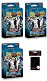 YuGiOh - Speed Duel Starter Duelists of Tomorrow - 3 Decks + Hüllen - Deutsch