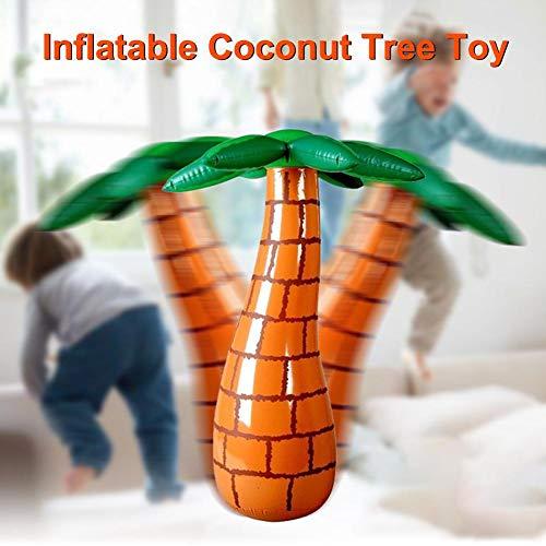Yunhigh-uk Aufblasbare Kokospalme Tumbler Spielzeug für Kinder über 5