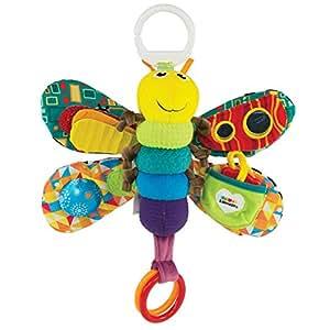 "Lamaze Baby Spielzeug ""Freddie, das Glühwürmchen"" Clip & Go – hochwertiges Kleinkindspielzeug – Greifling Anhänger zur Stärkung der Eltern-Kind-Beziehung – ab 0 Monate"