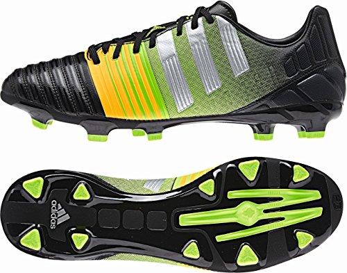 adidas nitrocharge 3.0 TRX FG Fußballschuh Herren BLACK1/METSIL/NEONOR