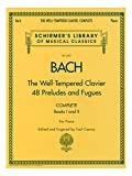 J.S. Bach: The Well-Tempered Clavier - Complete. Partitions pour Piano