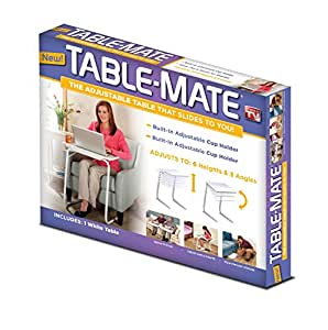 Table-Mate Adjustable Table (White)