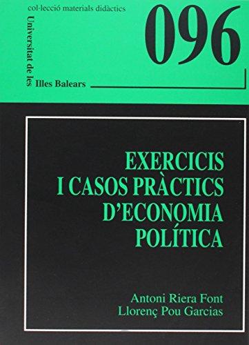 Exercicis i casos pràctics d'economia política (Materials didàctics)