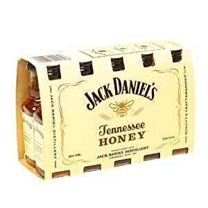 Jack Daniel's Original Recipe Tennessee Honey Liqueur 5cl Miniature - 10 Pack from Jack Daniels