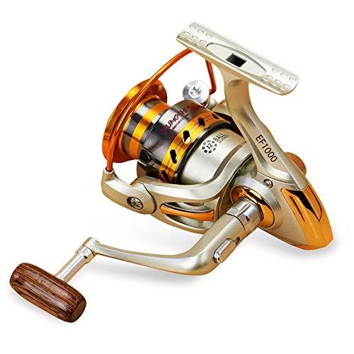 12BB 5,2: 1 Metall Spinning Angelrolle Fly Wheel für Fresh/Salzwasser Seefischerei Spinning Reel Karpfenangeln ()