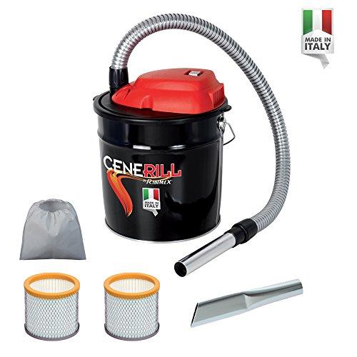 comprare on line ASPIRACENERE ELETTRICO CENERILL 800 W - 18 L con doppio filtro e lancia piatta prezzo