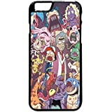 Rick And Morty Pokemon iPhone 6 Plus/6s Plus Case (Black Plastic)
