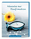 Wünsche zur Konfirmation: Gute-Wünsche-Box blau