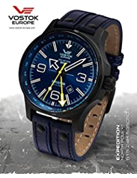 Vostok Europe Expedition North Pole relojes hombre 515.24H-595C503