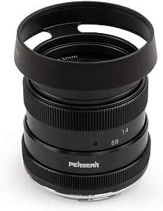 Pergear 50mm F1 8 Objektiv Für Fuji X Mount X A1 X A10 Kamera