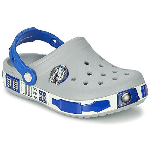 Crocs - cb star wars r2d2 - light grey cerulean blue, dimensione:19-21