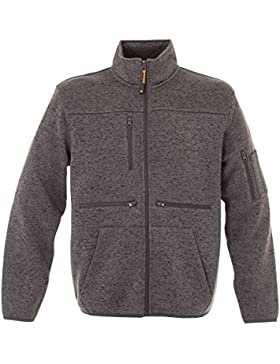 Giacca Da Lavoro in Pile Felpa Invernale In Maglia Knitted Fleece JRC Hannover