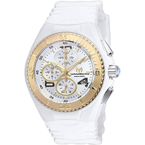 technomarine-cruise-jellyfish-femme-40mm-bracelet-silicone-blanc-quartz-cadran-argent-montre-tm-1151