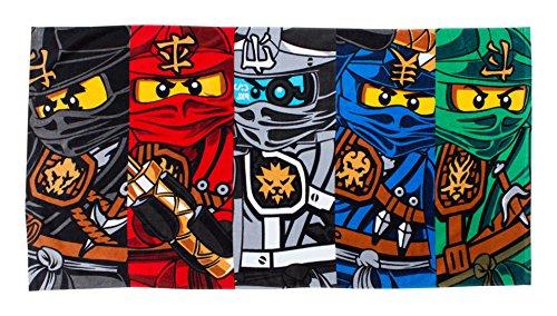 Preisvergleich Produktbild LEGO Handtuch,  Motiv Ninjago-Krieger