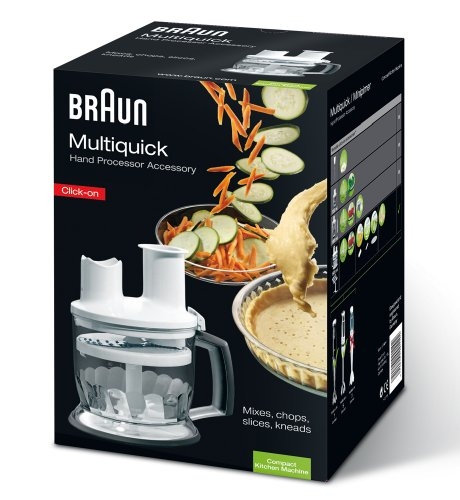 Braun Multiquick FPK 5 accessories kitchen machinenaufsatz