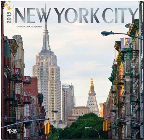 New York City 2015 - New York: Original BrownTrout-Kalender