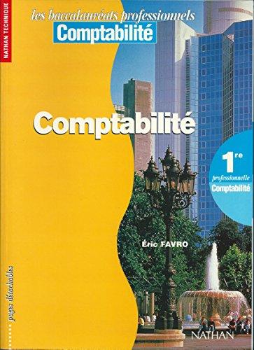 Comptabilité, 1re professionnelle, 1996. Livre de l'élève