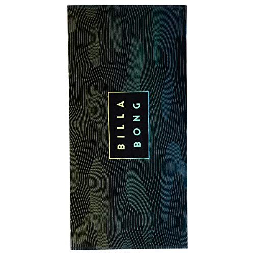 BILLABONG Herren DIE DIE Cut Towel Badelaken, Black sea, One Size(U) -