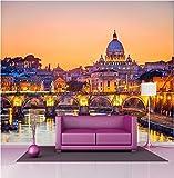 StickersNews Adhesivos Decorativos Gigante Déco: Vaticano Roma, 367x250cm