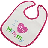 Terry Cloth Bib - I Love Mommy! by Baby King