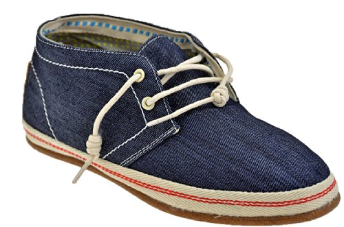 O-joo Mi M110 Baskets Basses Neuf Chaussures Hom. Bleu