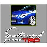PEGATINAS SPORT MIND TOYOTA R257 VINILO ADESIVI DECAL AUFKLEBER КЛЕЙ STICKERS CAR VOITURE SPORT RACING (BLANCO/WHITE)