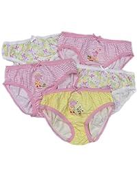 Filles Peppa Pig Pantalon Slips Culottes Cinq Pack De Départ Entrepôt 2 Years To 6 An