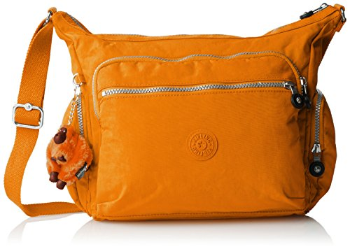 Kipling Gabbie, Sac bandoulière - Orange (Sunset Yellow), Taille Unique
