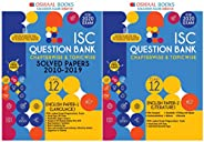 Oswaal ISC Question Bank Class 12 English Paper-2 Literature Book + English Paper-1 Language Book Chapterwise