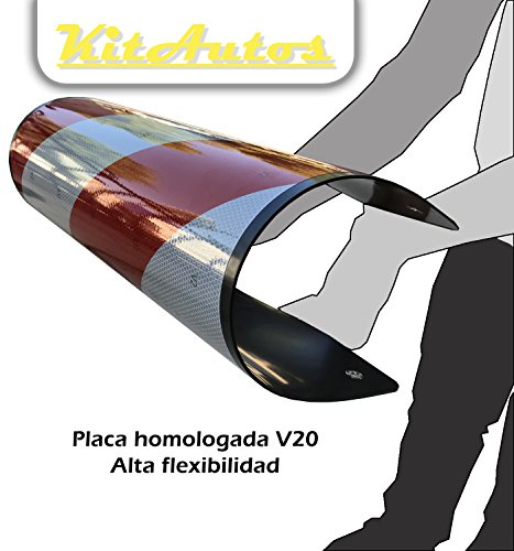 Placa V20 Homologada blanda 2