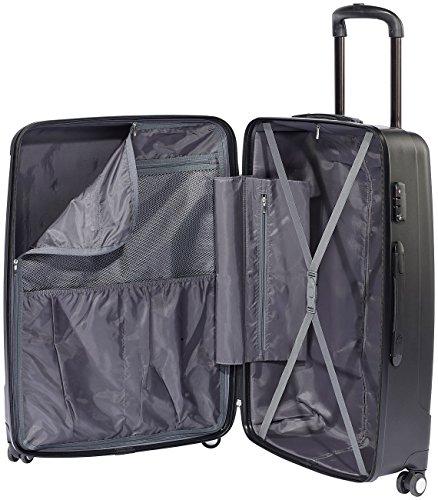 Xcase Kofferset: 4-teiliges Trolley-Schalenkoffer-Set, extra leicht und robust, TSA (Koffer Sets)