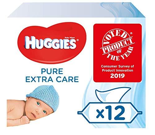 Huggies Pure Extra Care Toallitas para bebé