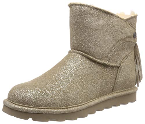 Bearpaw Damen Natalia Schlupfstiefel, Grau (Pewter Distressed 352), 37 EU (Distressed Damen Stiefel)