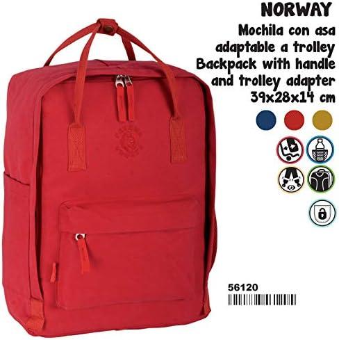 Montichelvo Montichelvo Backpack Bs Bs Bs rosso Pr Norway Cartella, 38 cm, Rosso (rosso)   Ideale economico    Il Più Economico    Promozioni  552662