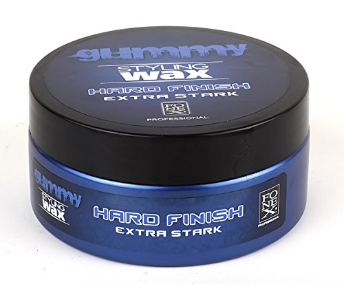 Haar-styling-wachs (Fonex Gummy Hard Finish extra stark 150 ml)