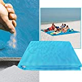 #6: ITW Sand-Free Waterproof Beach Picnic Mat - Sky Blue