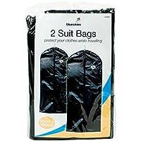 NEW 2Suit Borse da viaggio da appendere Zip Up Vestito porta abiti appendiabiti Schermo Shopmonk - Hanging Vestiti Del Bambino