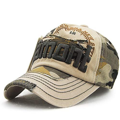 ung Baseballmütze im Freien Sonnenhut männlichen und weiblichen europäischen und amerikanischen Hut lässig Farbabstimmung 3 56-62cm ()