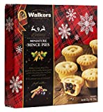 Walkers 9 Luxury Miniature Mincemeat Tarts 225 g (Pack of 3, Total 27 Tarts)